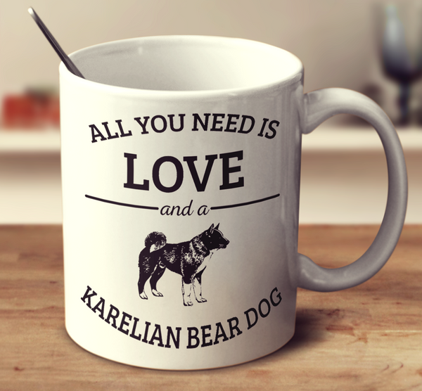 All You Need Is Love And A Karelian Bear Dog