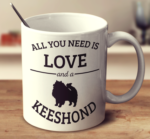 All You Need Is Love And A Keeshond
