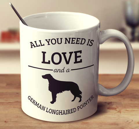All You Need Is Love And A German Longhaired Pointer