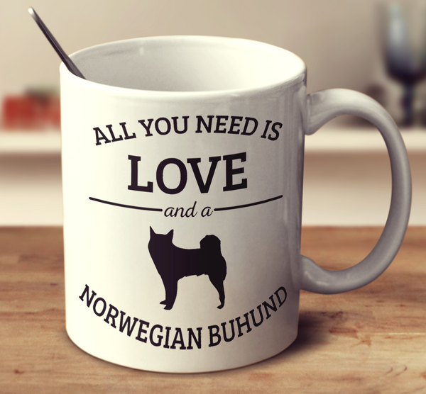 All You Need Is Love And A Norwegian Buhund
