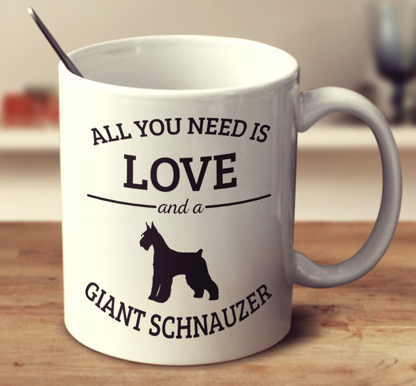All You Need Is Love And A Giant Schnauzer