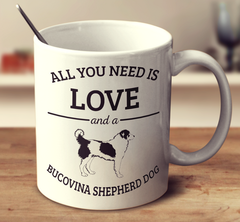 All You Need Is Love And A Bucovina Shepherd Dog