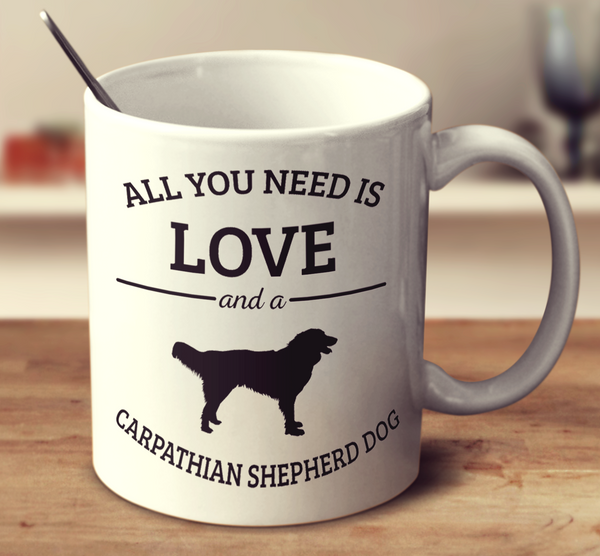 All You Need Is Love And A Carpathian Shepherd Dog