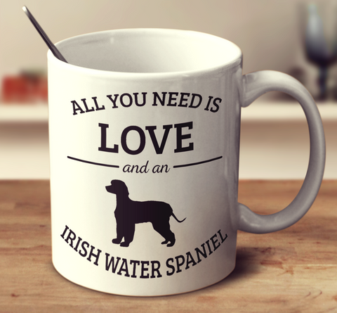 All You Need Is Love And An Irish Water Spaniel