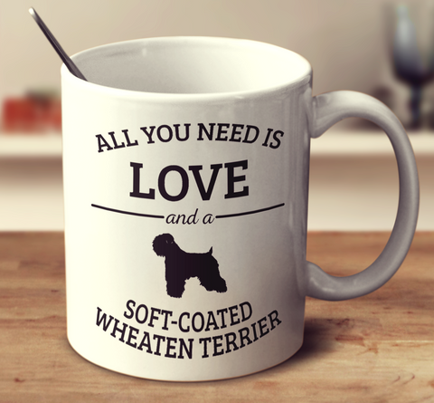 All You Need Is Love And A Soft-Coated Wheaten Terrier