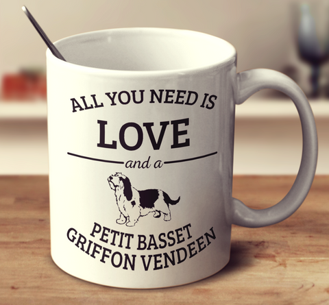 All You Need Is Love And A Petit Basset Griffon Vendeen