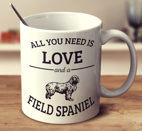 All You Need Is Love And A Field Spaniel