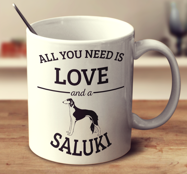 All You Need Is Love And A Saluki