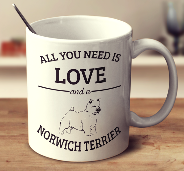 All You Need Is Love And A Norwich Terrier
