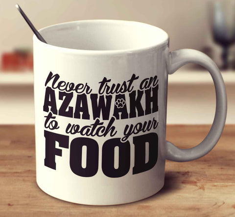 Never Trust An Azawakh To Watch Your Food