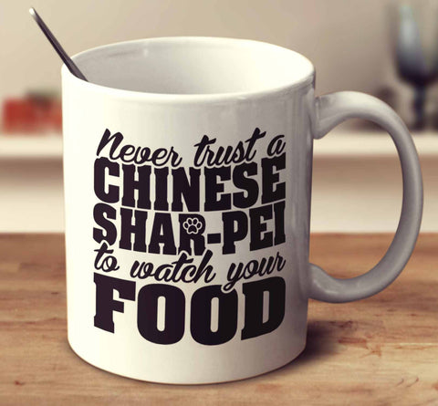 Never Trust A Chinese Shar-Pei To Watch Your Food