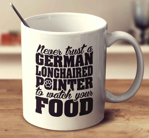 Never Trust A German Longhaired Pointer To Watch Your Food