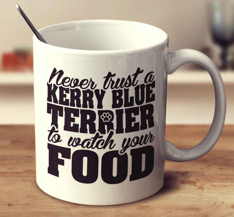 Never Trust A Kerry Blue Terrier To Watch Your Food