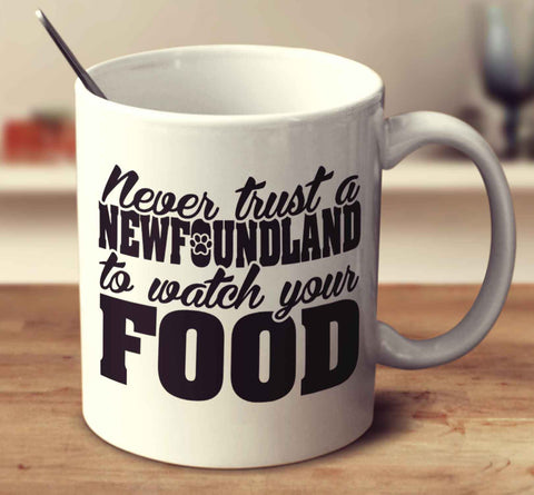 Never Trust A Newfoundland To Watch Your Food