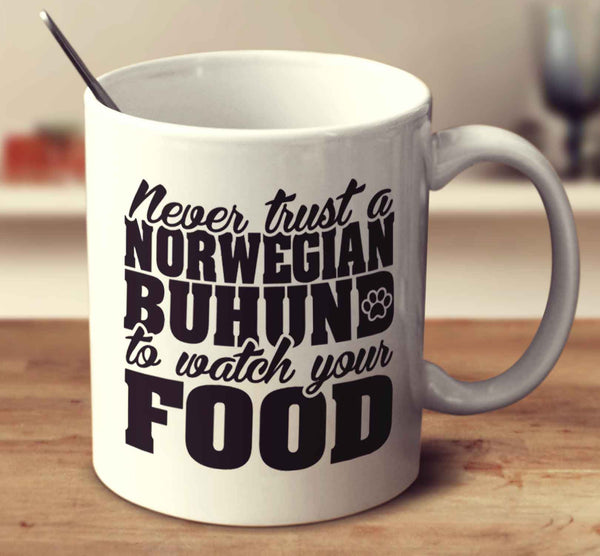 Never Trust A Norwegian Buhund To Watch Your Food