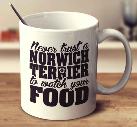 Never Trust A Norwich Terrier To Watch Your Food