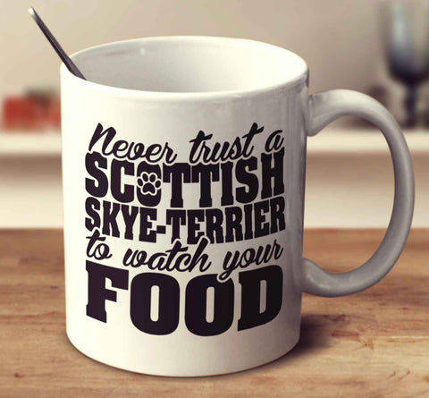Never Trust A Scottish Skye Terrier To Watch Your Food