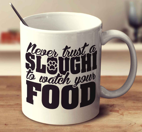 Never Trust A Sloughi To Watch Your Food