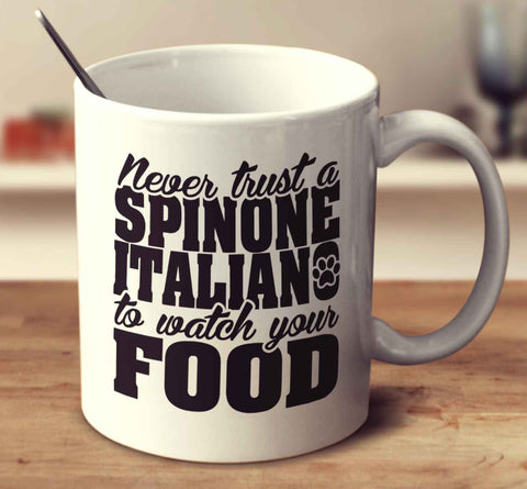 Never Trust A Spinone Italiano To Watch Your Food