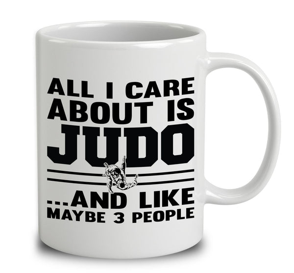 All I Care About Is Judo And Like Maybe 3 People