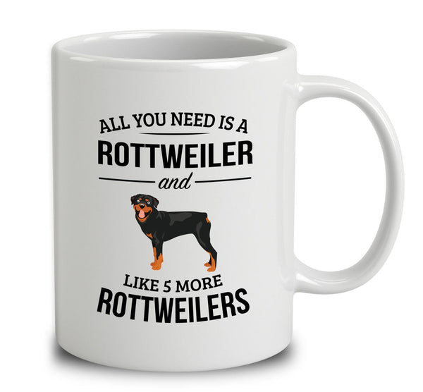 All You Need Is A Rottweiler And Like 5 More Rottweilers