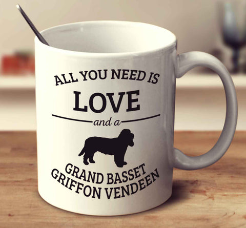 All You Need Is Love And A Grand Basset Griffon Vendeen
