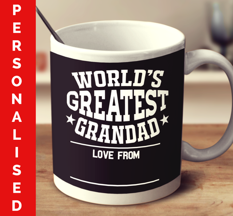 Personalised World's Greatest Grandad