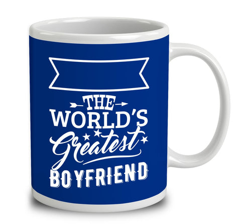 Personalised World's Greatest Boyfriend