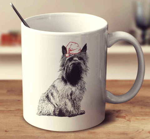 Christmas Cairn Terrier Sketch