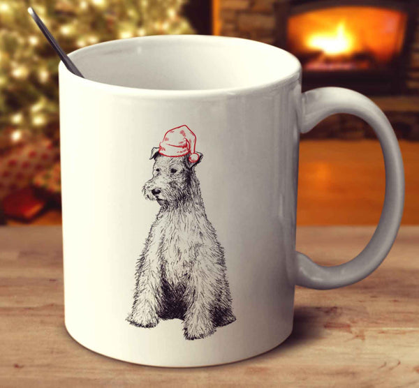 Christmas Wire Fox Terrier