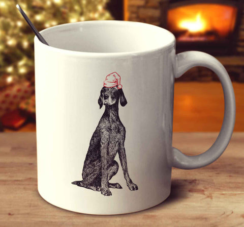 Christmas German Shorthaired Pointer