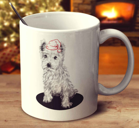 Christmas West Highland White Terrier