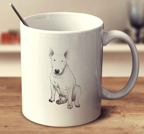 English Bull Terrier Sketch