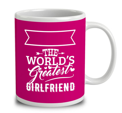 Personalised World's Greatest Girlfriend