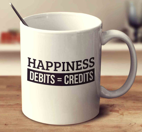 Happiness Debits Credits