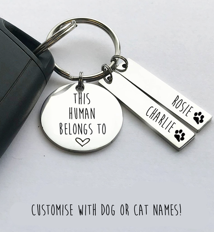 This Human Belongs To Keyring