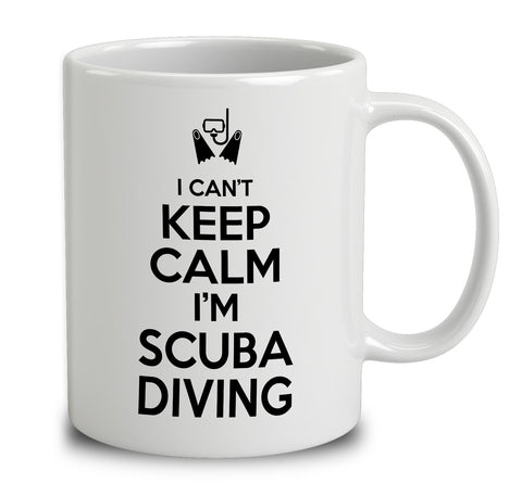 I Can't Keep Calm I'm Scuba Diving