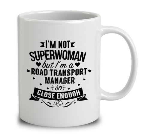 I'm Not Superwoman But I'm A Road Transport Manager
