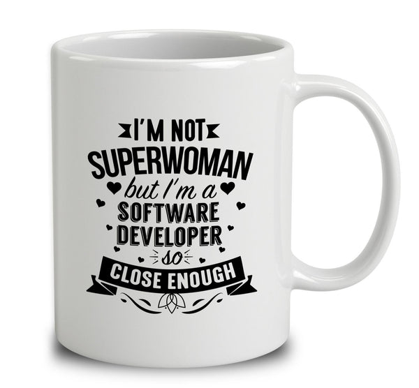 I'm Not Superwoman But I'm A Software Developer