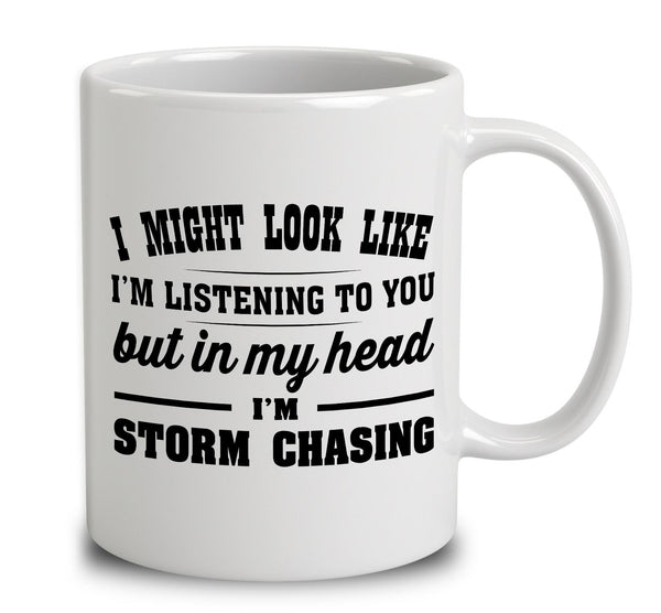 I Might Look Like I'm Listening To You, But In My Head I'm Storm Chasing