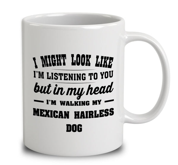 I Might Look Like I'm Listening To You, But In My Head I'm Walking My Mexican Hairless Dog