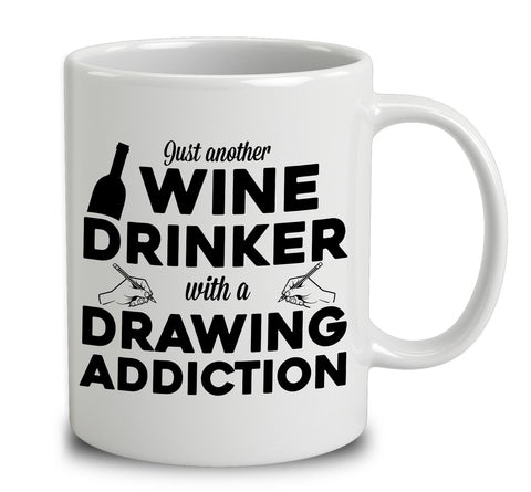 Just Another Wine Drinker With A Drawing Addiction