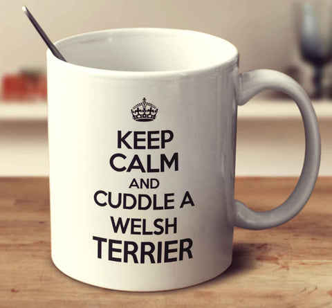 Keep Calm And Cuddle A Welsh Terrier