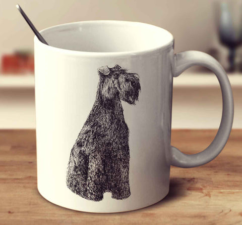 Kerry Blue Terrier Sketch