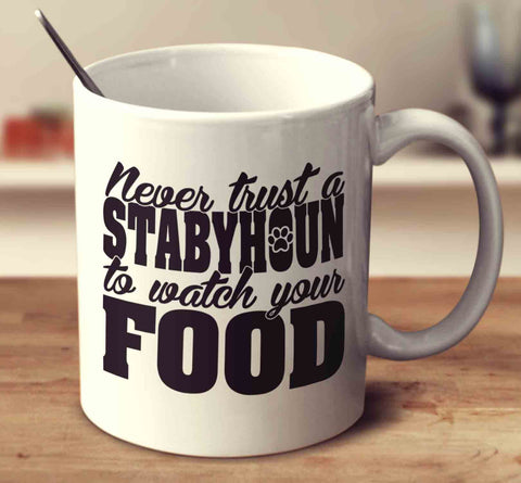 Never Trust A Stabyhoun To Watch Your Food