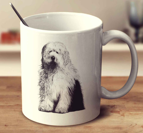 Old English Sheepdog Sketch