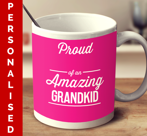 Personalised Amazing Grandkid