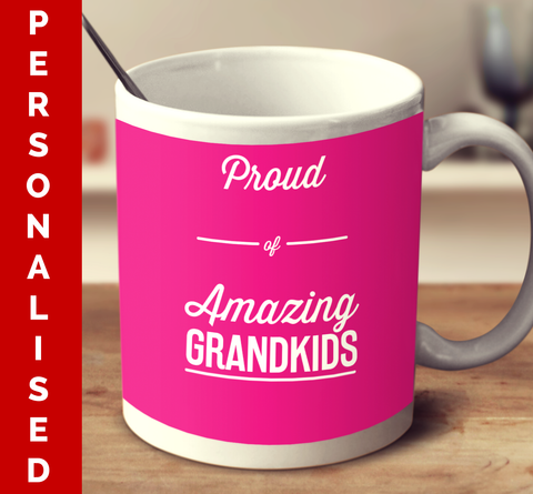 Personalised Amazing Grandkids