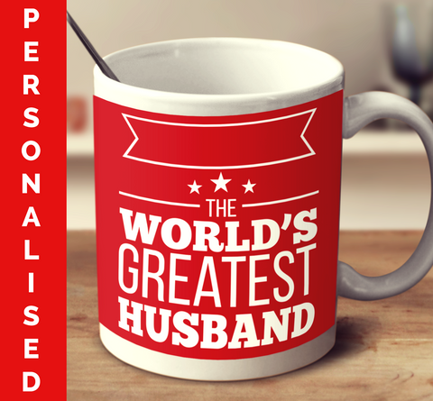 Personalised The World's Greatest Husband