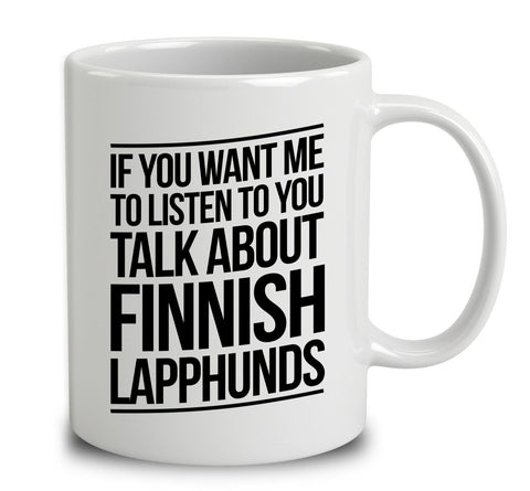 Talk About Finnish Lapphunds
